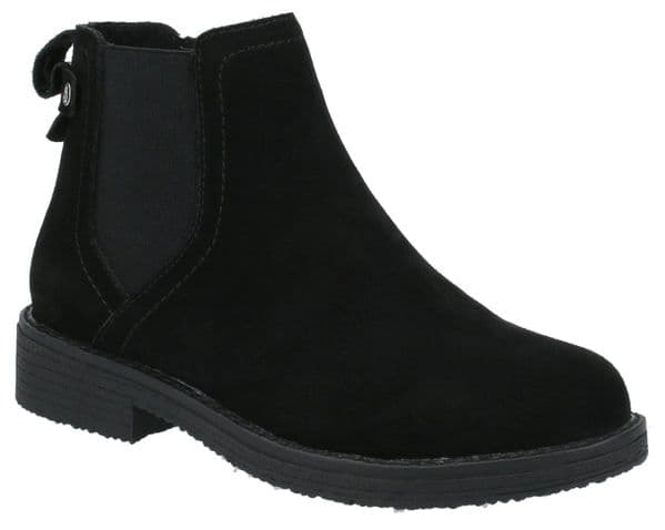 Hush Puppies Maddy Ladies Ankle Boots Black
